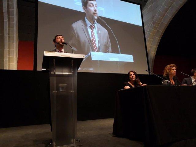 El president de la Càmera de Barcelona, Joan Canadell