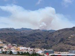 Incendio de Artenara