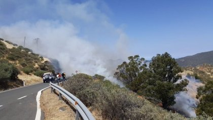 Detienen a un vecino de Telde por el incendio de Artenara