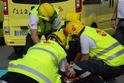 Fallece un hombre tras la colisión frontal de dos motos en Gran Canaria