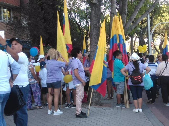CELEBRACIÓN DEL DÍA DE ECUADOR EN MADRID