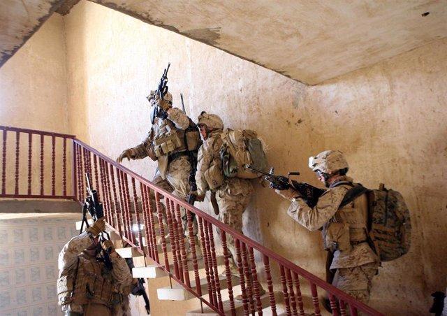 Soldados de EEUU en Irak.
