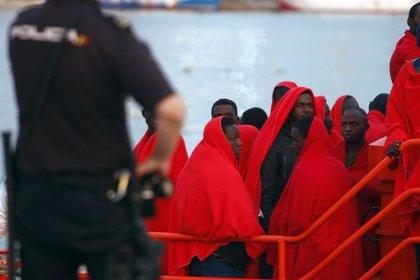 Rescatan al sur de Gran Canaria una patera con 23 migrantes a bordo