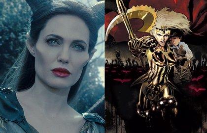 Así sería Angelina Jolie como Thena en Los Eternos de Marvel