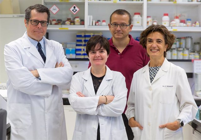 Investigadores del Cima Universidad de Navarra