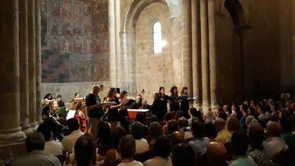 Más de 450 personas asisten a la clausura del Festival Internacional de Música Antigua de Daroca