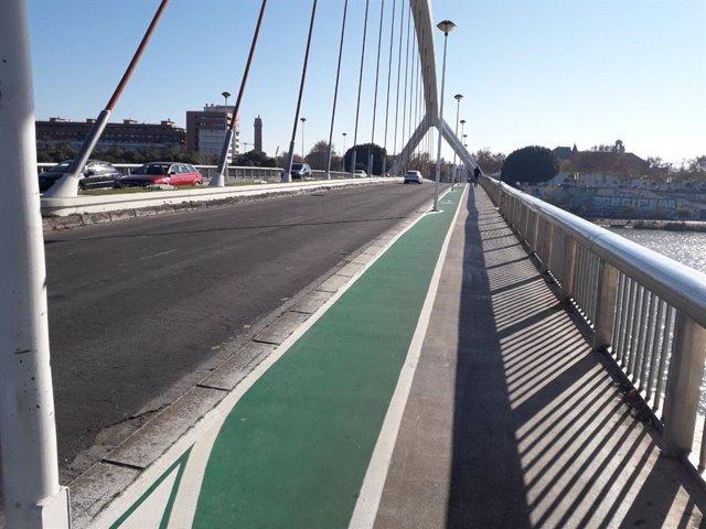 El Ayuntamiento ejecuta 190 actuaciones de mejora de carriles bici desde mayo de 2018.