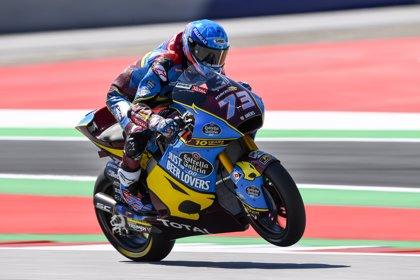 Àlex Márquez y Navarro suben al podio en Moto2 y Canet cede el liderato en Moto3