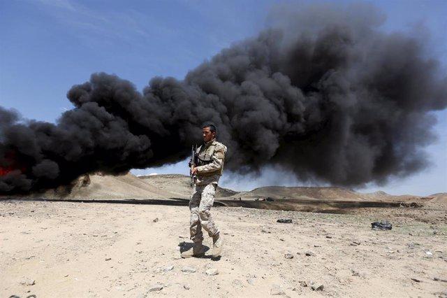 Policía afgano en Nangarhar