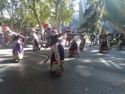 Madrid acerca la cultura de Bolivia a los madrileños con la celebración de la fiesta de la Virgen de la Urkupiña