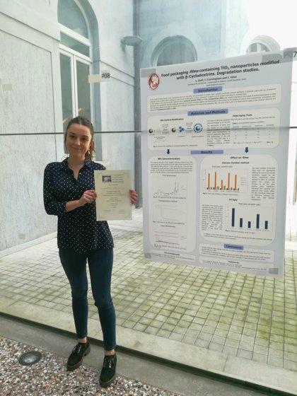 Leire Goñi, doctoranda de la Universidad de Navarra, premiada en un Congreso Internacional de Química Supramolecular