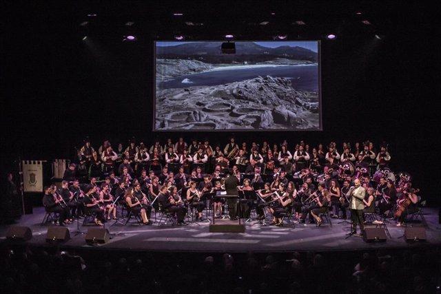 La actuación de la Banda de Silleda en la 49ª edición del Festival Intercéltico de Lorient