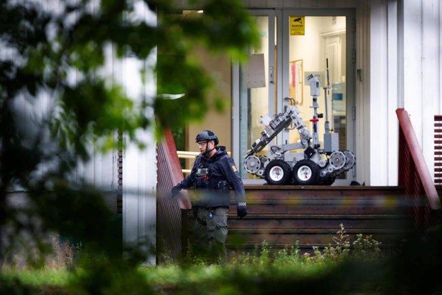 """Noruega.- La Policía dice que el ataque contra una mezquita es investigado como un """"intento de acto de terrorismo"""""""