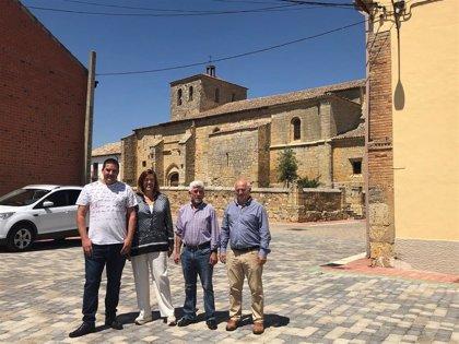 29.000 euros para rehabilitar la Plaza de Santa María de Melgar de Yuso (Palencia)