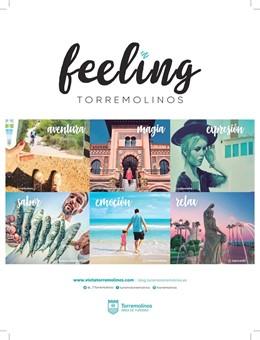 Cartel de la campaña de promoción de Torremolinos en vuelos de Air Europa