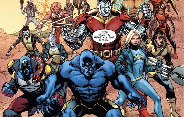 Los X-Men en los cómics
