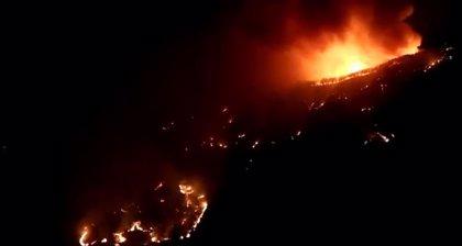 La UME despliega 177 efectivos para ayudar en la extinción del incendio de Gran Canaria
