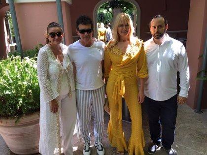 Antonio Banderas y Valeria Mazza apoyan este domingo la décima gala solidaria del festival de música Starlite
