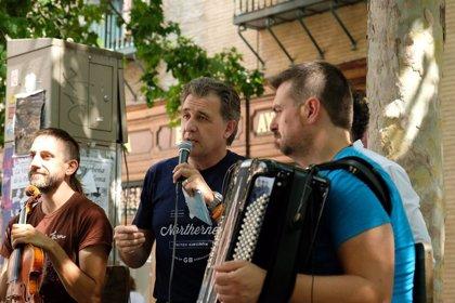 El II Festival Folclore Vivo-Cultura Contra la Despoblación incluye dos conciertos sobre un globo aerostático cautivo