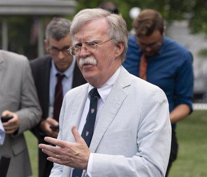 Bolton llega a Londres para pedir al Gobierno británico más presión sobre Irán y China