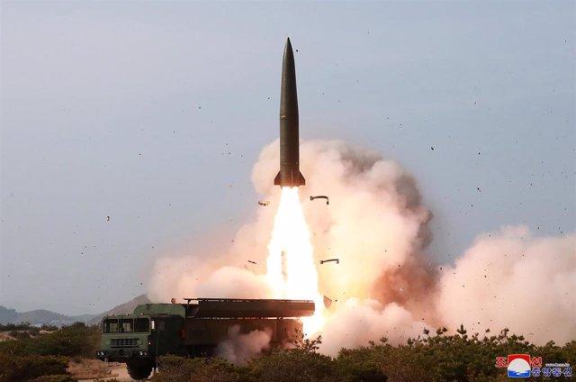 Ensayo con proyectil en Corea del Norte