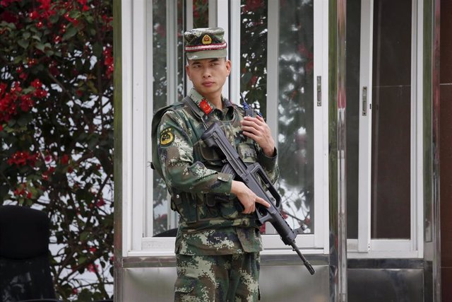 Un soldado en Laos
