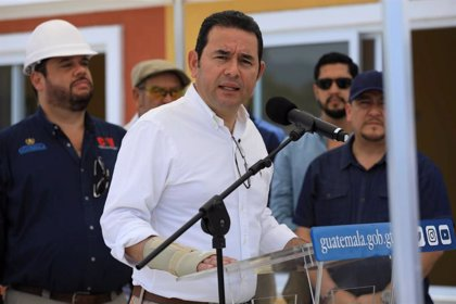 Guatemala.- El presidente de Guatemala seguirá en política tras acabar su mandato en enero