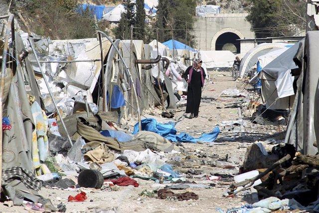Campamento en Latakia