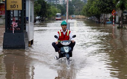 Mueren al menos 24 personas debido a las inundaciones en Vietnam