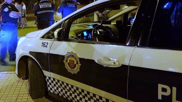 Coche de la Policía Local de Elche