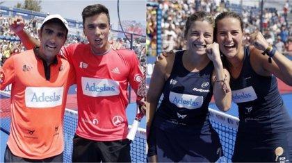 Galán y Lima vuelven a reinar y Salazar y Sánchez logran su cuarto título en el Cervezas Victoria Mijas Open