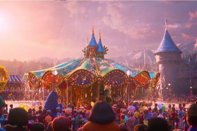 Fotograma de El parque mágico