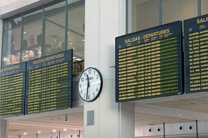 Los aeropuertos registran 17,7 millones de pasajeros hasta julio, un 9,3% más
