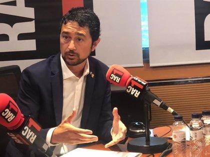 """Calvet (JxCat) defiende a la ANC: """"Que diga que nos tenemos que movilizar me parece perfecto"""""""