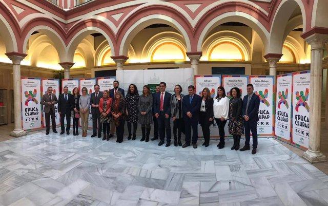 Entrega de los Premios 'Educaciudad' correspondientes a 2017, en una imagen de archivo