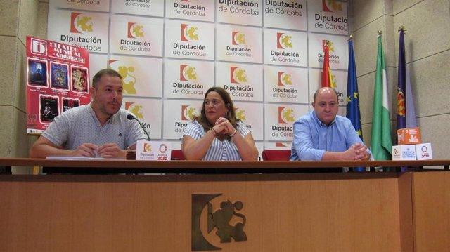 Presentación de la Bienal de Teatro Musical de Andalucía en Posadas