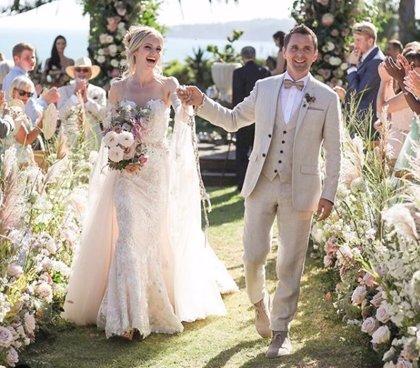 Matthew Bellamy se casa con Elle Evans