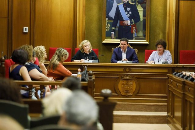 Momento de la última reunión del Consejo Provincial de la Mujer