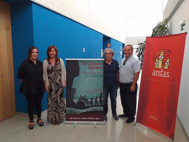 Presentación del concierto 'El Gigante Egoísta', en beneficio de ANFAS