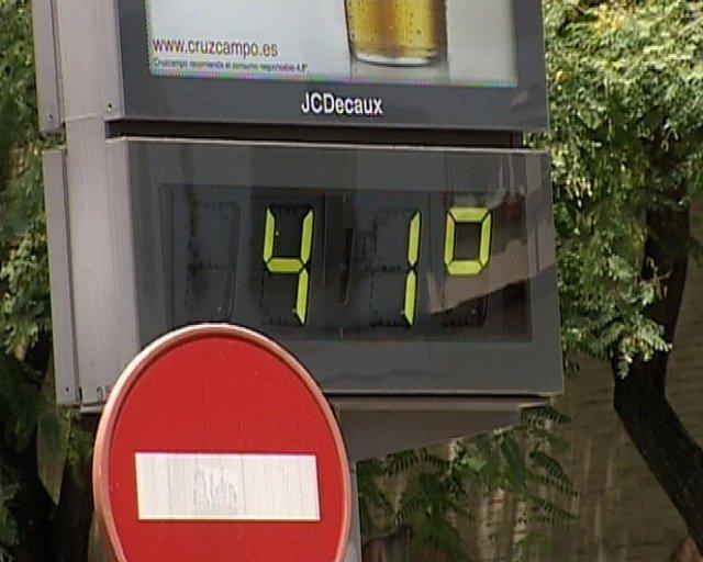 Calor En Sevilla, Termómetro