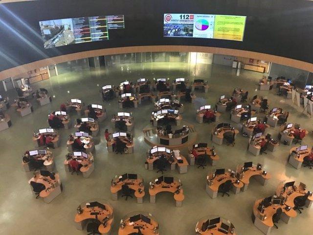 Sede del Centro de Emergencias de la Comunidad de Madrid 112