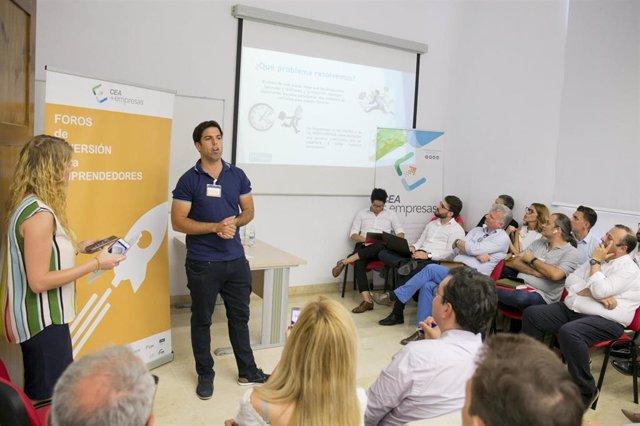 Foro de Inversión para Emprededores de la CEA en Málaga.