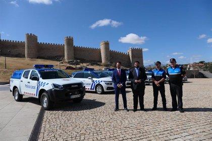 La Policía Local de Ávila renueva cinco vehículos de su flota