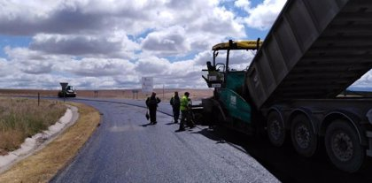 Concluyen los trabajos de mejora y refuerzo del firme de varias carreteras de Segovia