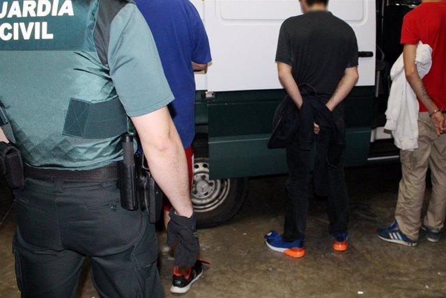 Detenciones en Astillero