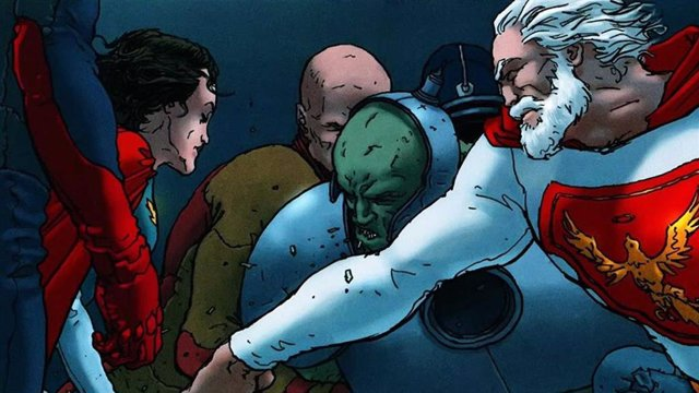 Imagen del cómic Jupiter's Legacy