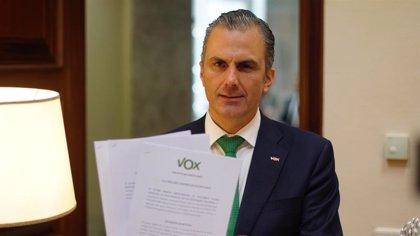 """Vox reitera que no dan """"cheque en blanco"""" a Ayuso y que no aceptarán políticas de izquierdas en un Gobierno de derechas"""