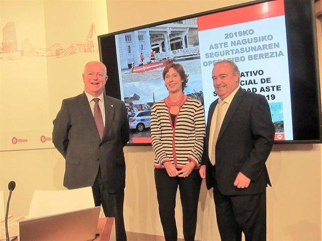 Concejala de Seguridad, Amaia Arregi en Bilbao