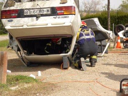 Los 12 accidentes registrados este fin de semana en C-LM dejan 25 heridos, seis de ellos graves
