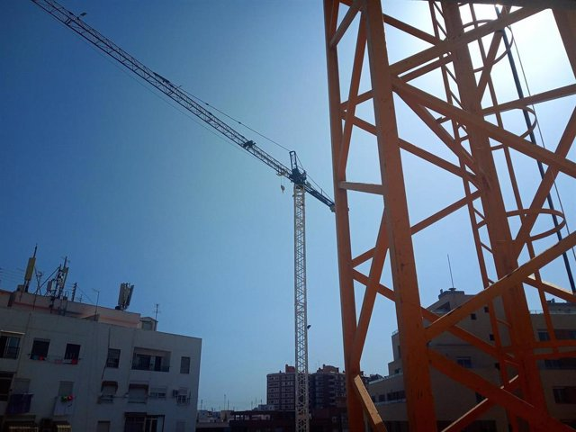 Construcción de vivienda en València